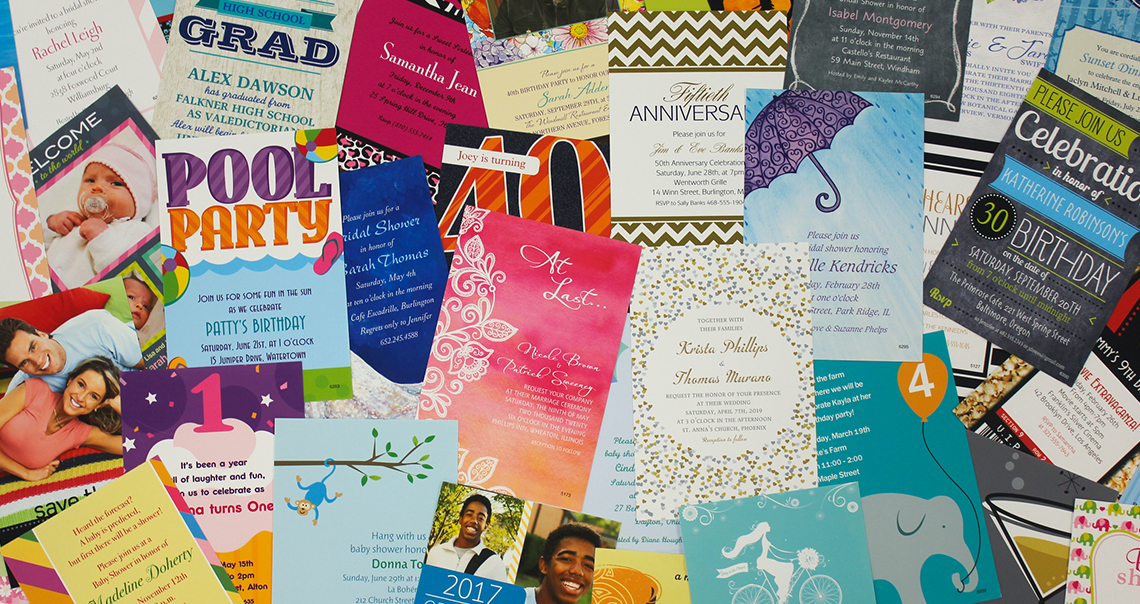Infinite Designs Invitations